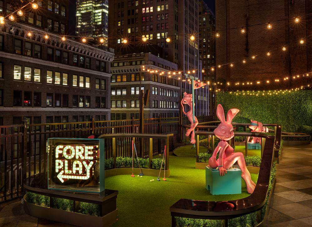 Marriott's Moxy Times Square opened in late 2017 / PHOTO: MICHAEL KLEINBERG