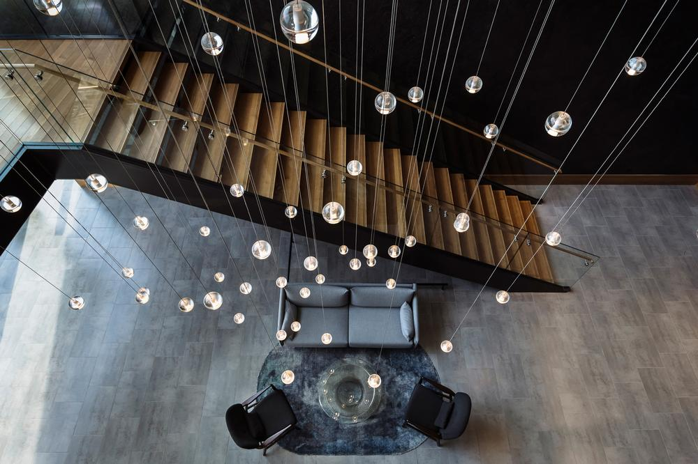 Lighting choices create the required atmosphere at Canopy by Hilton in Washington, DC