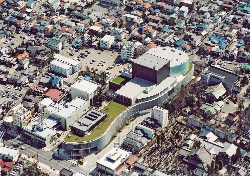 The Matsumoto Performing Arts Centre opened in Japan in 2004 / Ito, Nihon, Takenaka, Shimizu, Obayashi