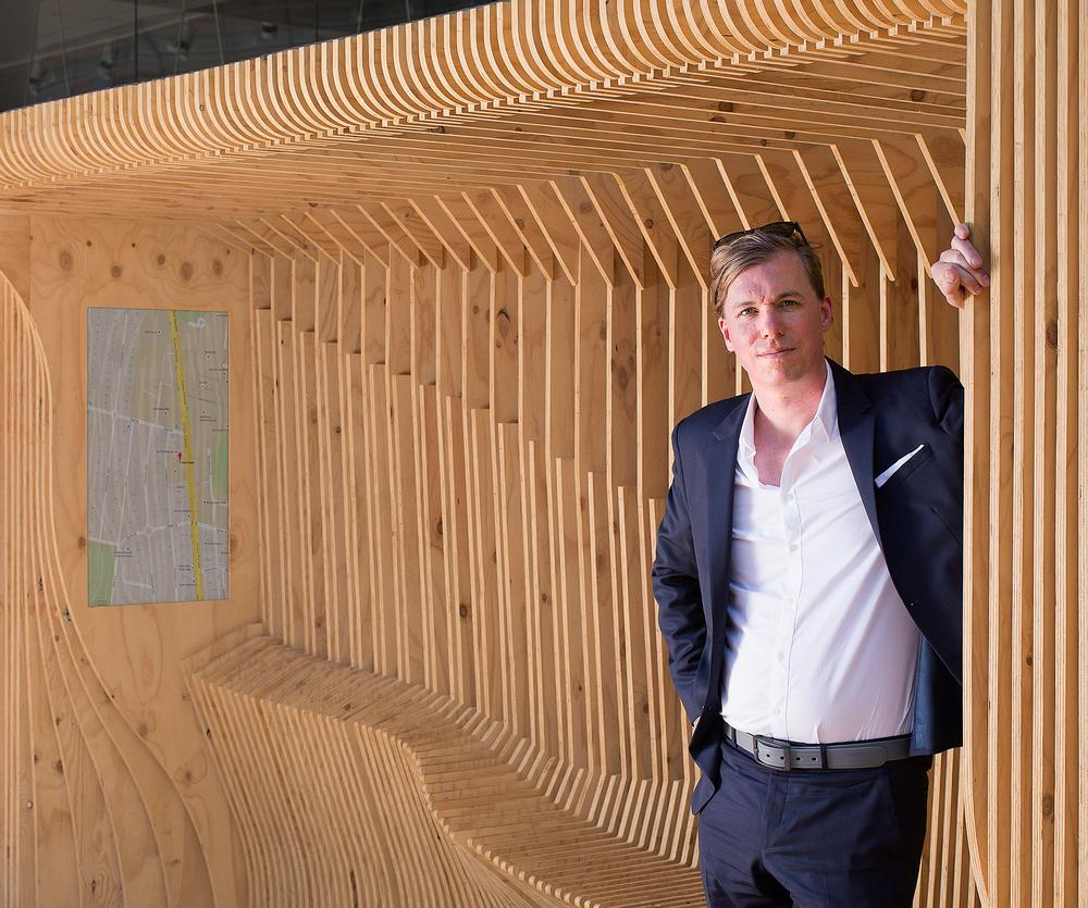 Hank Haeusler is researching how buildings can become responsive to behaviour
