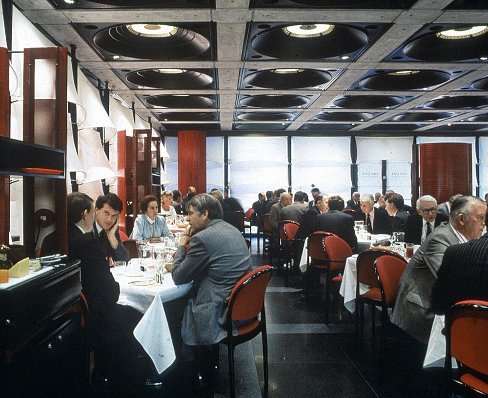 The restaurant at London's iconic Lloyds Building