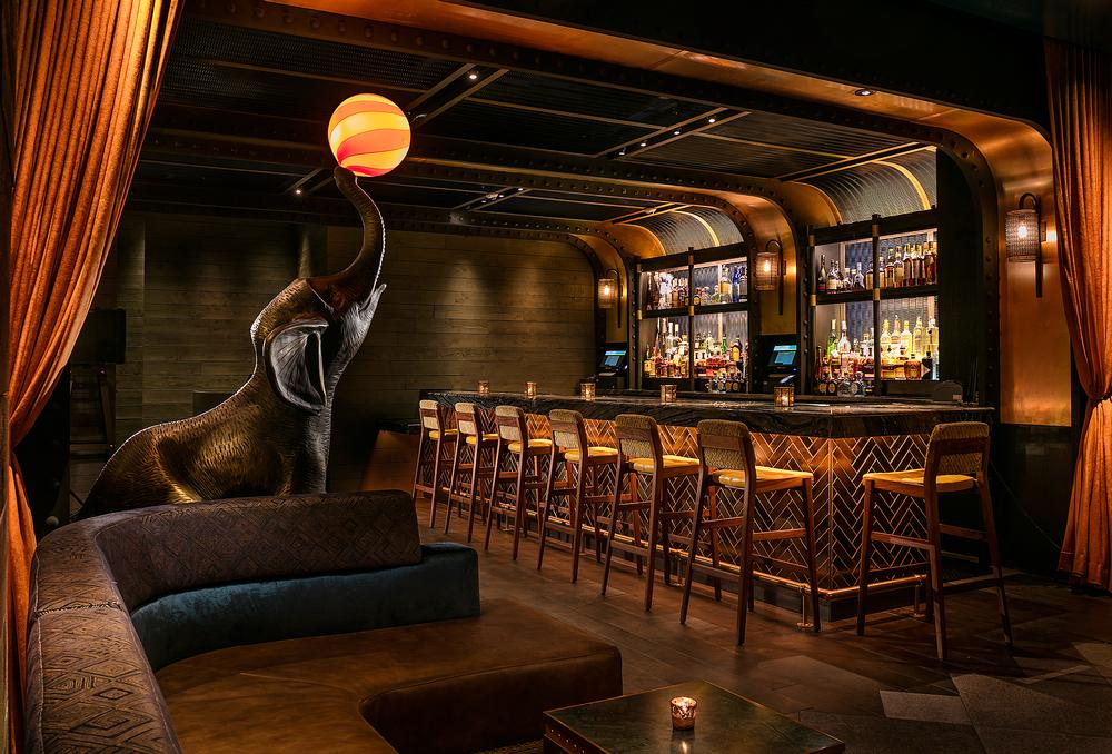 Each of Moxy's bars and restaurants have been designed to deliver a distinct experience
