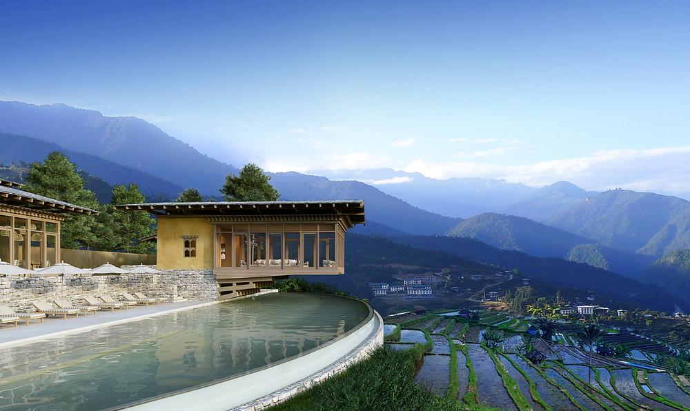 Spas at each of the six lodges focus on a different strand of Bhutan's unique Gross National Happiness index