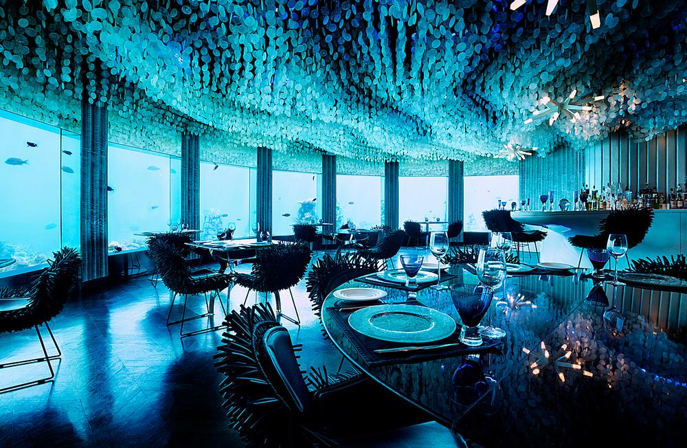 Subsix was built as a nightclub and is now a restaurant / Photo: Niyama Private Island, Maldives