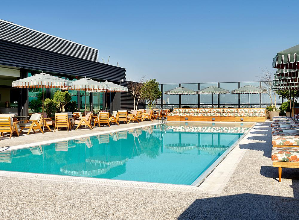White City House features an indoor lap pool in the House Gym as well as the rooftop pool