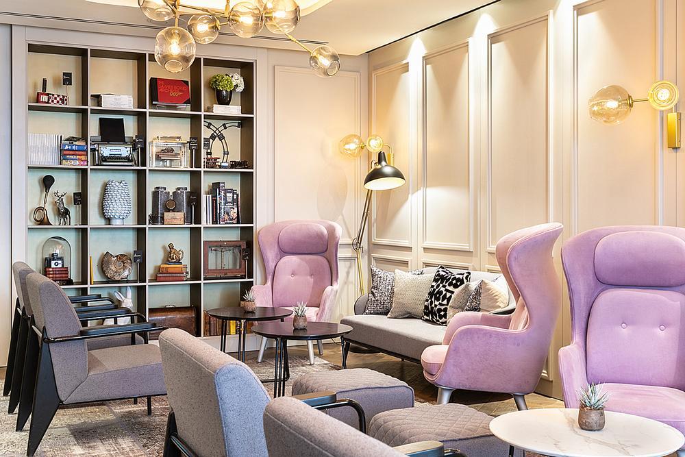 The hotel features subtle Sherlock Holmes-inspired design touches / Photos: Ben Carpenter