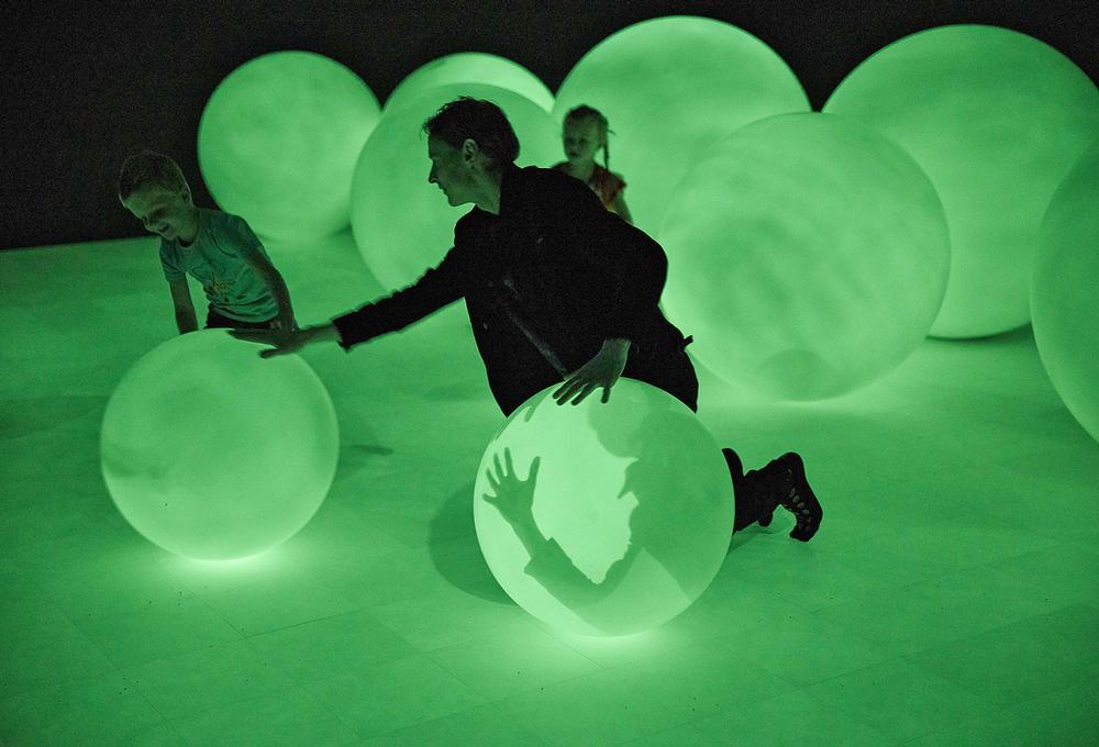 Roosegaarde's first major solo museum exhibition explores the idea of 'presence'