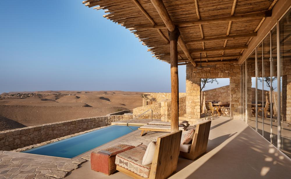 Six Senses is expected to grow to 60 hotels in 10 years and a desert hideaway is Israel is one of the next to open
