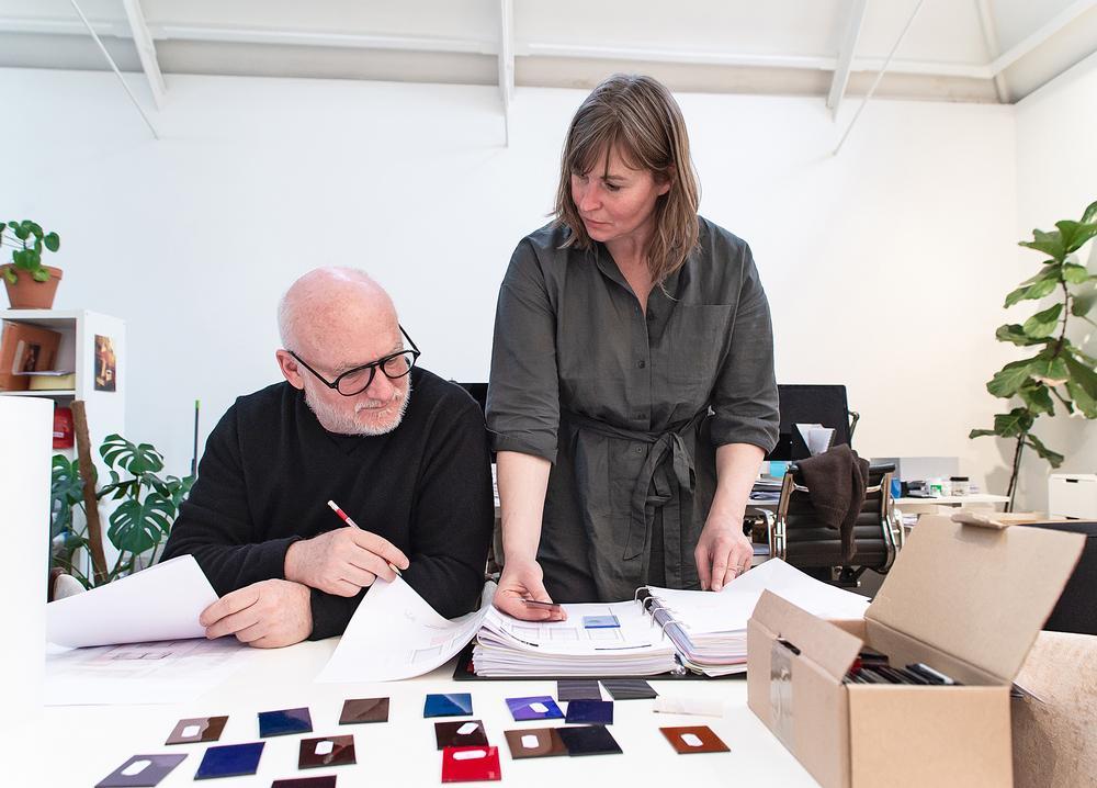 Shawn Hausman and SHD principal Jessica Kimberley created the interiors / Photos: Garry MacLennan