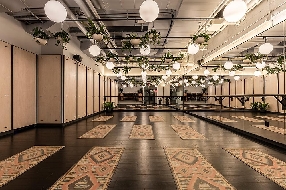 WeWork opened its first gym, Rise by We, in New York last year