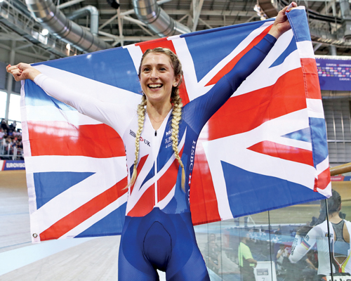 People profile: Laura Kenny
