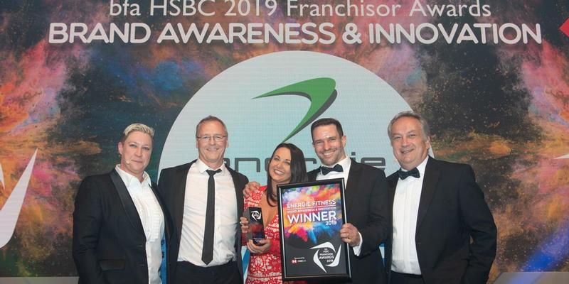 énergie Fitness wins franchising award