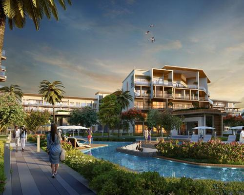 When complete, MAG Creek Wellbeing Resort will reportedly be the Middle East's largest health tourism destination.
