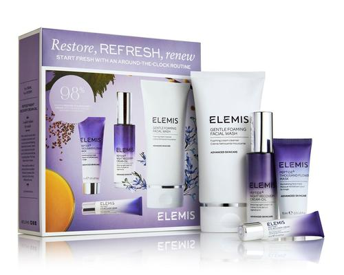 Elemis will launch four skincare kits targeting different skincare concerns