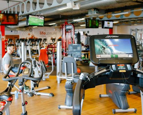 The Stockport Sports Village features features a 5,000sq ft health club