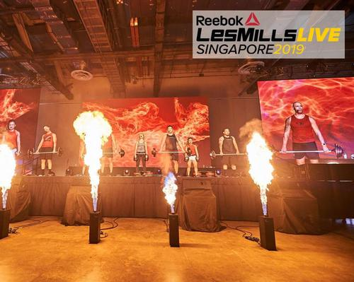 Featured supplier: Dates revealed for Reebok Les Mills Live 2019