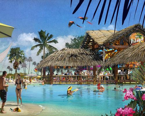 The waterpark, which is the first to open in Kissimmee in more than 13 years, will be the first in the area to include an adults-only section