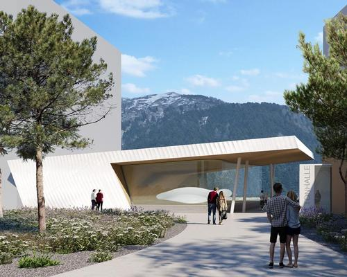 Studio Seilern-designed concert hall to open at alpine wellness resort