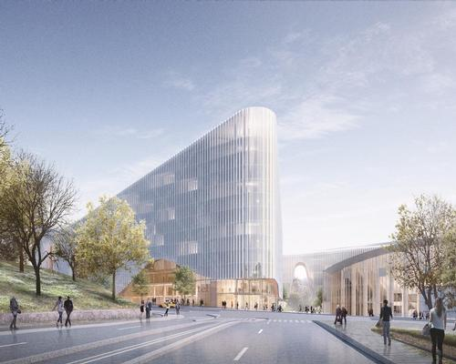 The complex, which will include a sports arena and ice rink, will be mostly underground. / Courtesy of Garden Helsinki