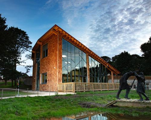 The building and the nature reserve are managed by a partnership led by the Royal Society for the Protection of Birds (RSPB)