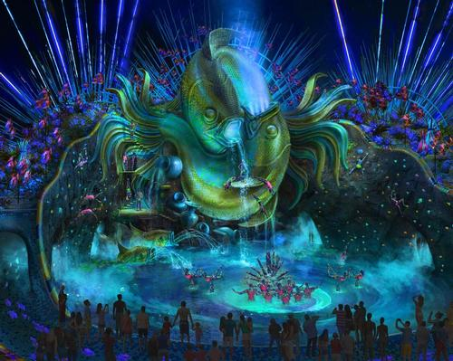 Waterpark by day and stage by night, as new details revealed for Cirque Du Soleil waterpark