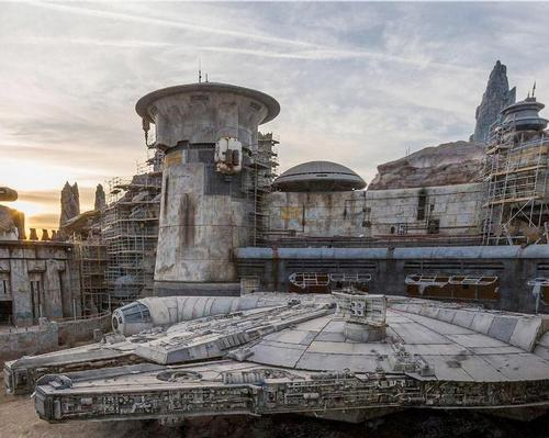 Disney's first image of its Millennium Falcon theme park ride