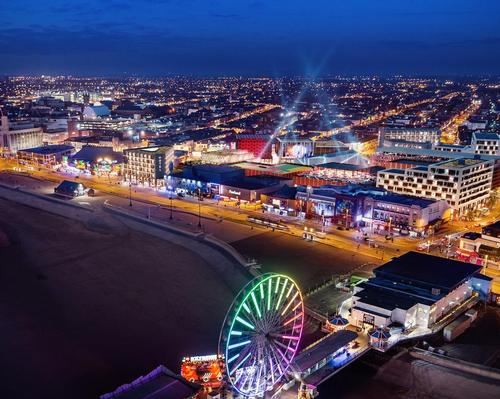 The masterplan for the redevelopment shows a number of new attractions along the coastal town's Golden Mile promenade stretch / Blackpool Council