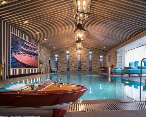 The Grandes Alpes, Courchevel 1850 is the first hotel spa in the area to offer treatments by Bellefontaine