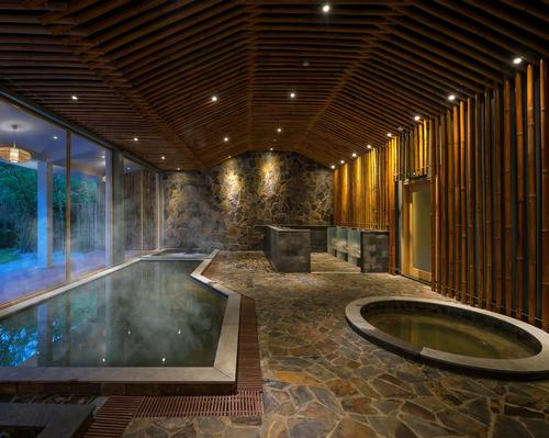 Alba Wellness Hue was inspired by the five classical elements of Southeast Asian philosophy: fire, earth, metal, water, and wood. / Courtesy of Alba Wellness Hue