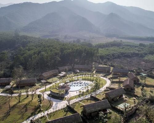 The resorts are located in the vicinity of a mineral-rich hot spring which has been dubbed a 'Holy Grail'.