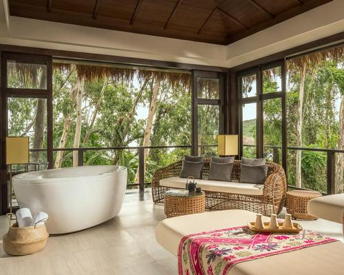 The Anantara Spa includes nature-inspired treatment suites, positioned among the trees, which boast double massage beds and oversized bathtubs