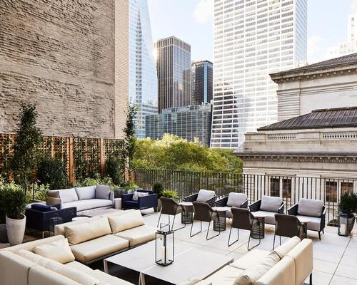 David Chipperfield and Stonehill & Taylor contributed to the hotel's design. / Courtesy of The Park Terrace Hotel