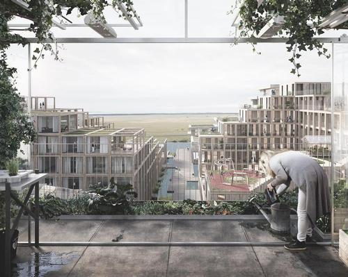 According to Arstiderne Arkitekter, the residences will be a