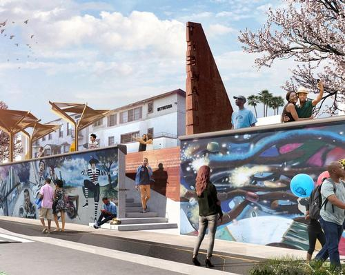 Sneak peek at Perkins + Will's open-air museum in Los Angeles