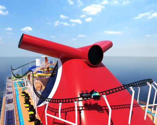 World's first ever rollercoaster at sea to debut in 2020