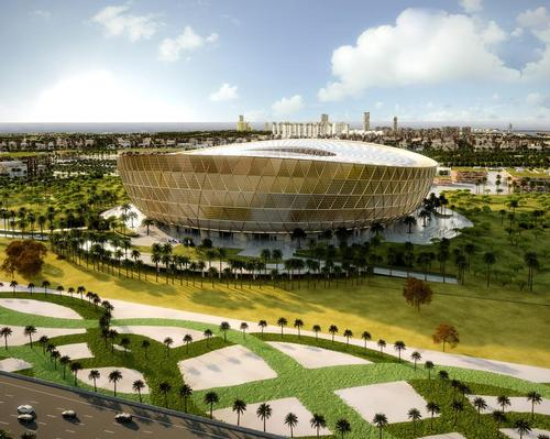 Qatar unveils eye-catching design for Lusail Stadium