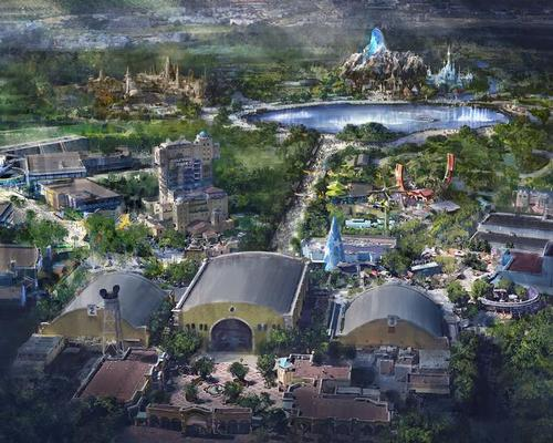 Disney is investing €2bn in three new lands themed on Marvel, Frozen and Star Wars