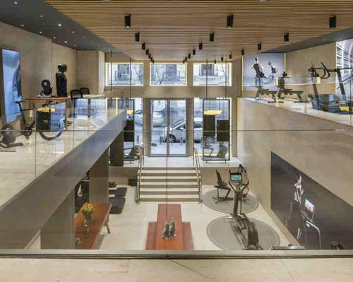 The shop is the third Technogym retail space to open in Spain