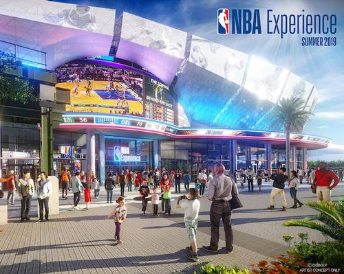 The NBA Experience is due to open summer 2019 / Disney