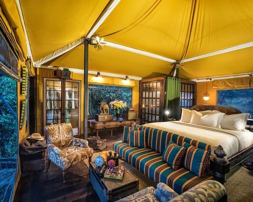The resort is nestled in the heart of the Kirirom jungles.