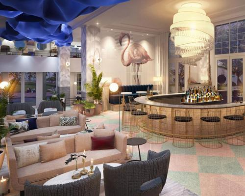 The new resort will be located in Miami's Ocean Drive district, offering unobstructed views of the Atlantic Ocean.