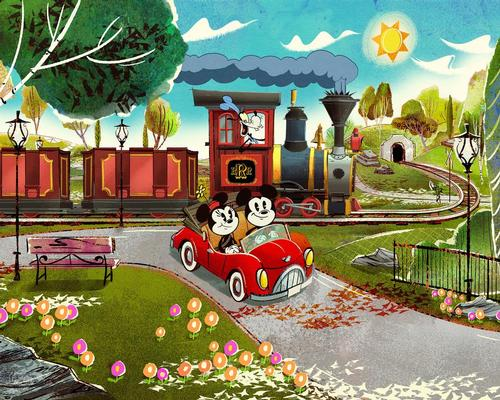 Panasonic brings Mickey and Minnie to life in Disney's new immersive experience