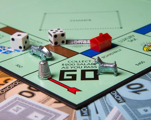 Monopoly was created 84 years ago and is one of the world's most popular family board games / Shutterstock.com