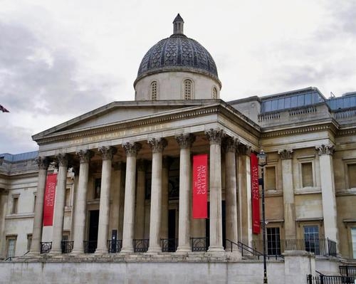 The National Gallery, London – one of the numerous arts institutions across England