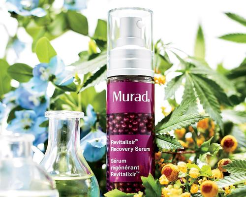 The serum contains cannabis oil, wild indigo and niacinamide to revive and renew the skin