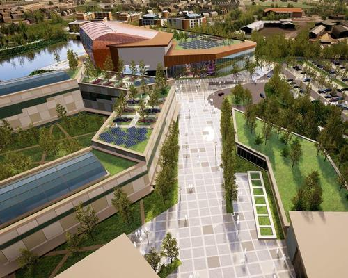 Planning granted for massive Welsh wellness village