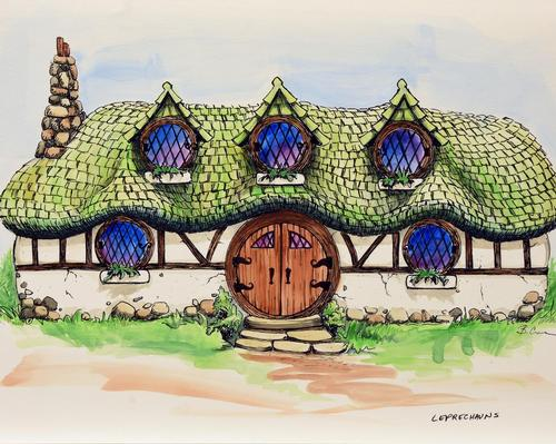 Ancient Lore Village is expected to open in 2020. / Courtesy of DKLEVY