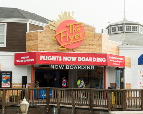 Triotech's The Flyer - San Francisco opens at Pier 39