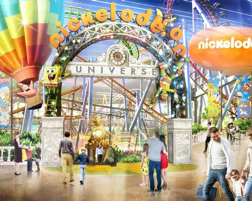 Nickelodeon Universe is set to open in April 2019
