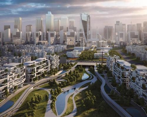 Work starts on major leisure and green space district in Cairo